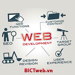 Dịch vụ thiết kế website uy tín chuyên nghiệp - BICTweb.vn