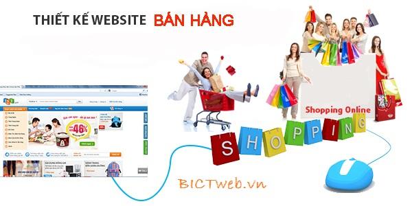 Thiết kế website bán hàng giá rẻ