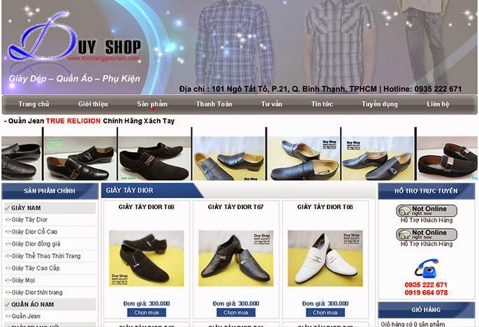 thiet-ke-website-ban-giay-dep