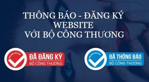 Đăng ký website với Bộ công thương không mất phí