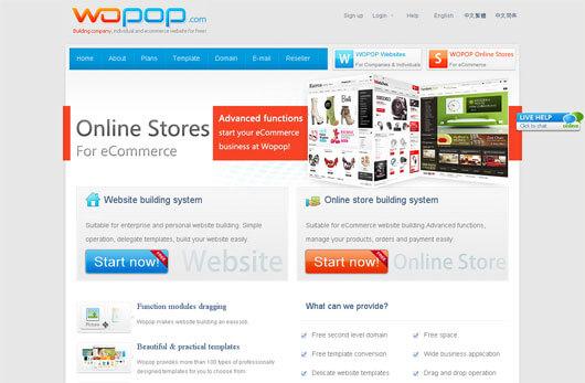 Tự tạo trang web trực tuyến miễn phí