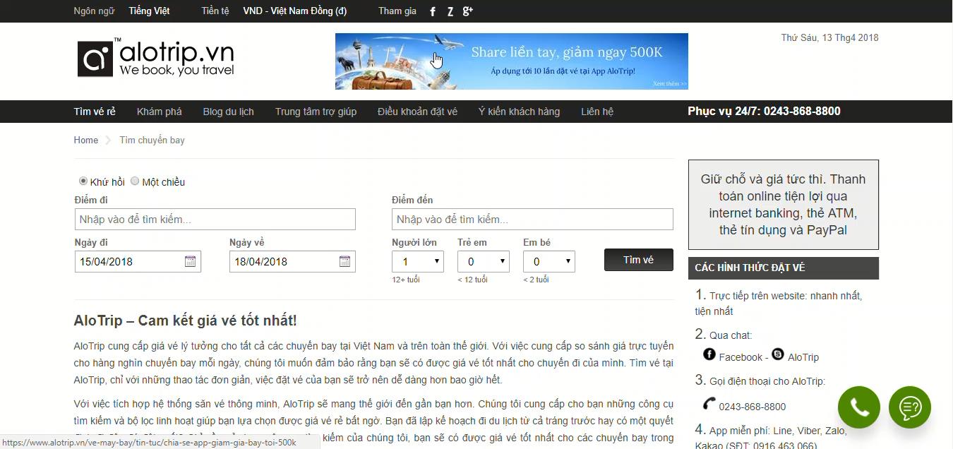 Công Ty TNHH AloTrip Việt Nam