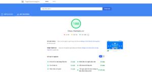 Dịch vụ tối ưu Google PageSpeed Insights