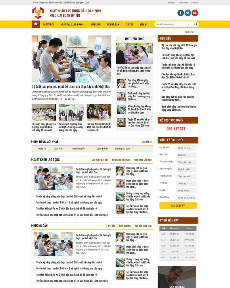 thiết kế website tin tức uy tín hà nội