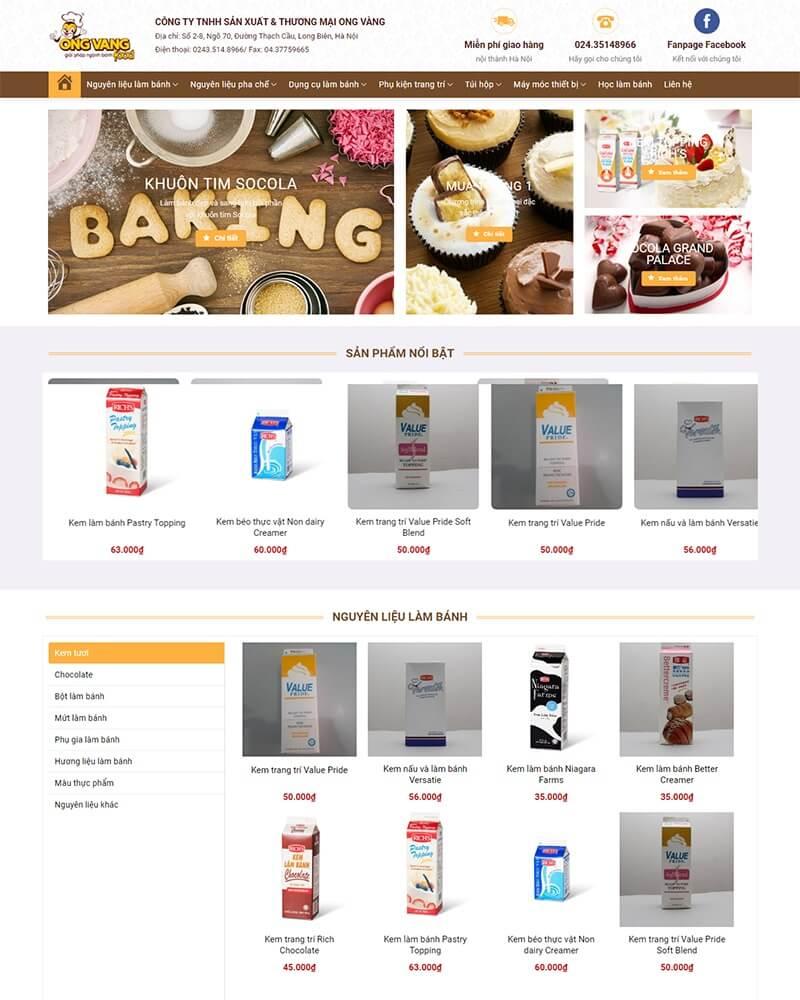 thiết kế website bán hàng uy tín hà nội