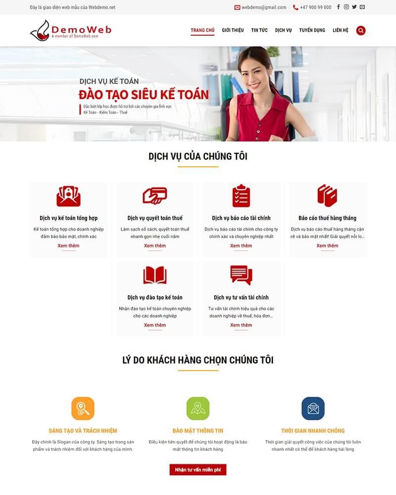 thiết kể website công ty giá rẻ